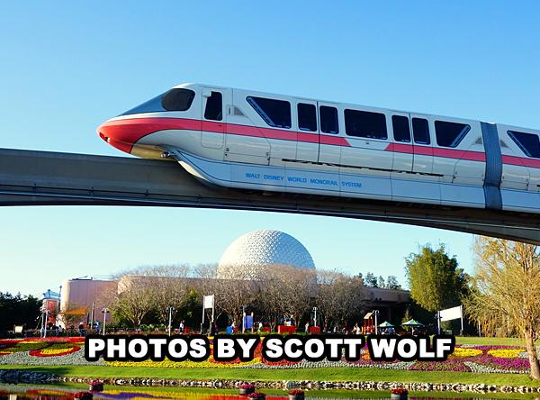 Monorail - Epcot