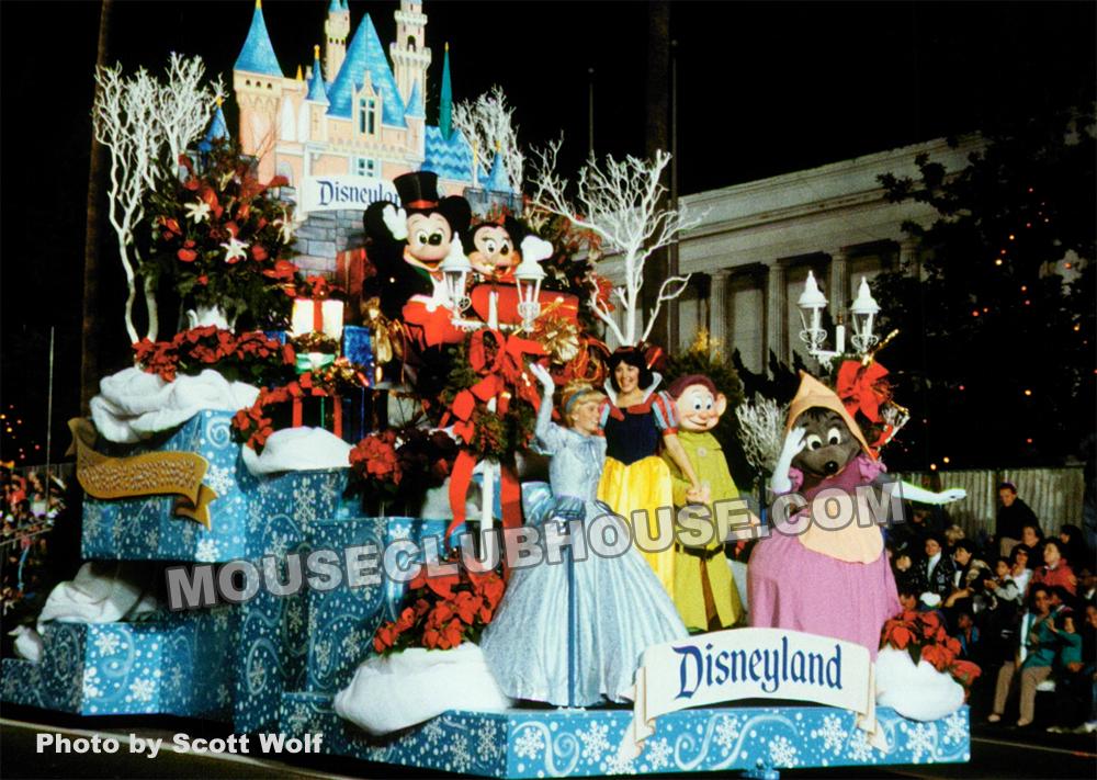 Disney at the Hollywood Christmas Parade 1993