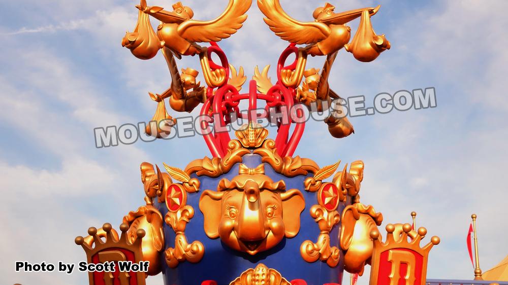 Walt Disney World Magic Kingdom new Fantasyland - Dumbo