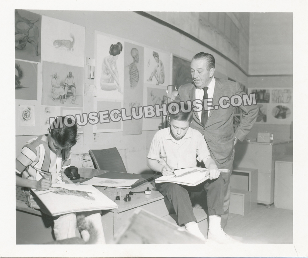 1963 - Walt Disney at Kansas City Art Institute