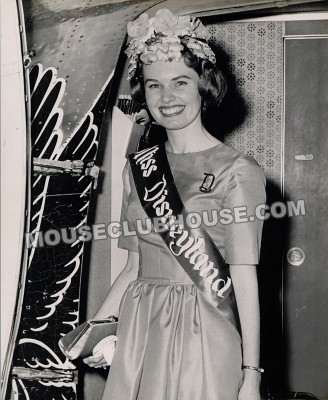 Valerie Watson as Miss Disneyland, 1962