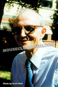 Blaine Gibson at the Walt Disney Studios, 1993