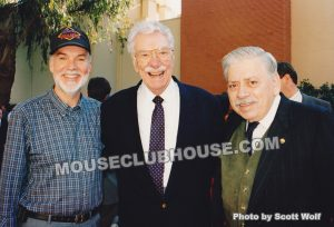 I love this photo that I took back in 1995. Pete Renoudet, Thurl Ravenscroft, Robert B. Sherman (wonderful people!!)