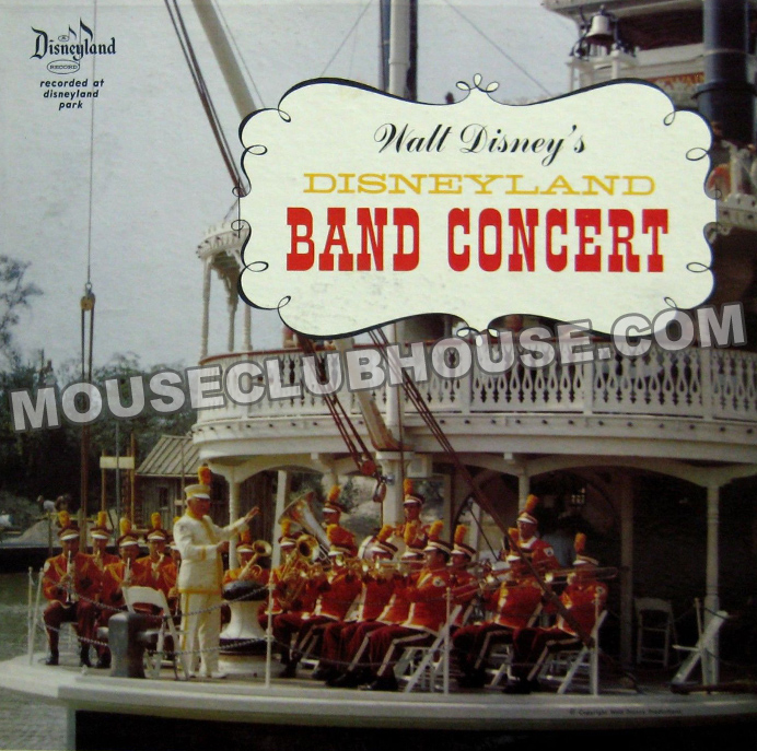 Disneyland Band Concert record album that Sonny was first hired for