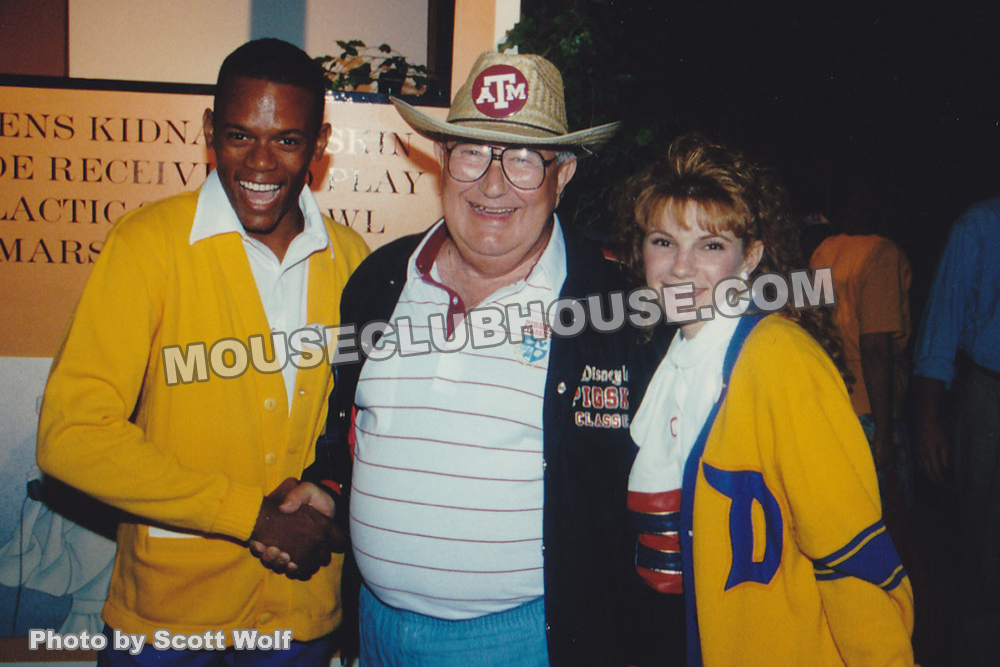"1992 ""Pigskin Bash"" for the Disneyland Pigskin Classic football game"