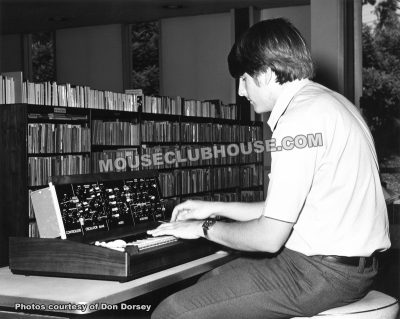 Don Dorsey and his Minimoog (1972)