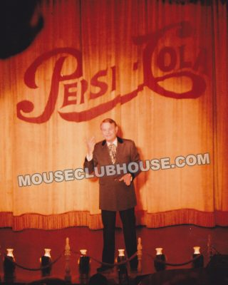Jay Meyer in a performance of Disneyland's Golden Horseshoe Revue
