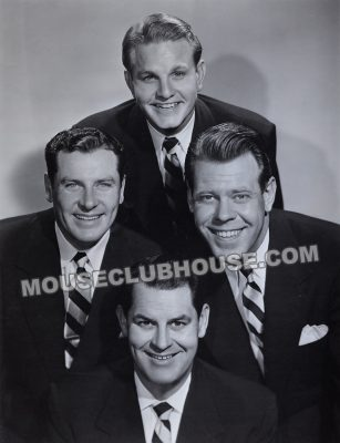 Jay Meyer (top) with the Sportsmen Quartet