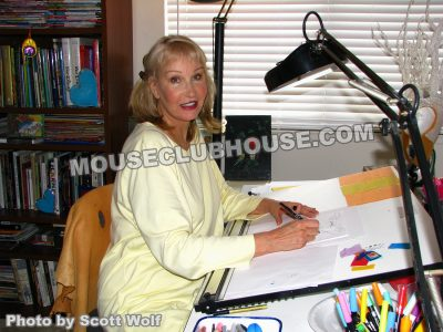 Disney costume designer Alyja Kalinich