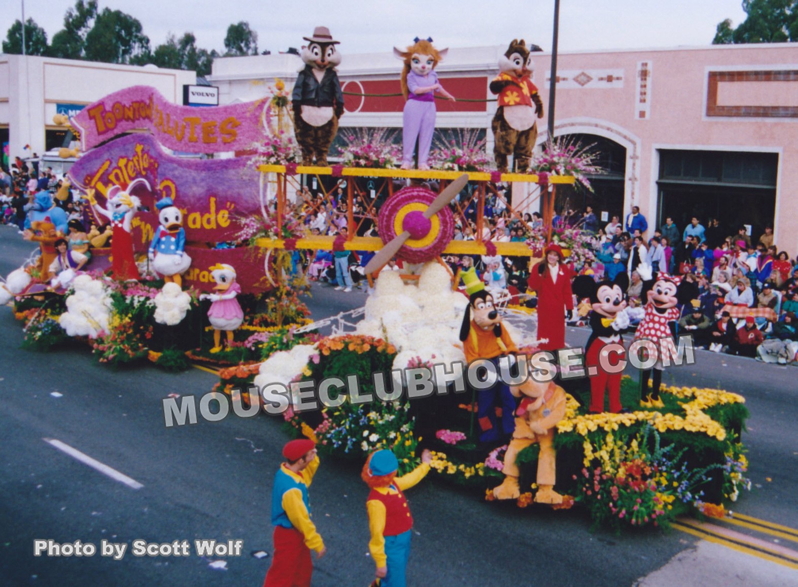 Kathleen in the 1993 Tournament of Roses parade