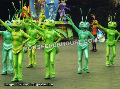 "An array of bugs from ""A Bug's Life"""