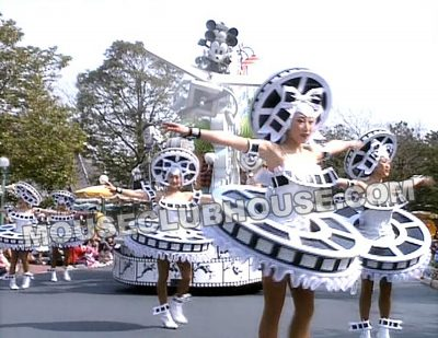 "Film reel costumes ""Disney on Parade at Tokyo Disneyland"""
