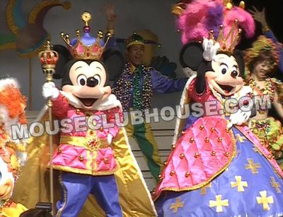 Mickey and Minnie overdressings designed by Alyja for Tokyo Disneyland