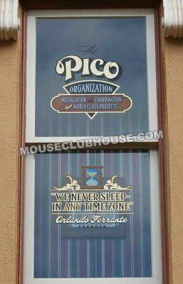 Orlando Ferrante's window on Main Street in Disneyland