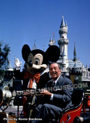 Walt's last visit to Disneyland